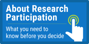 HHS.gov About Research Participation Website